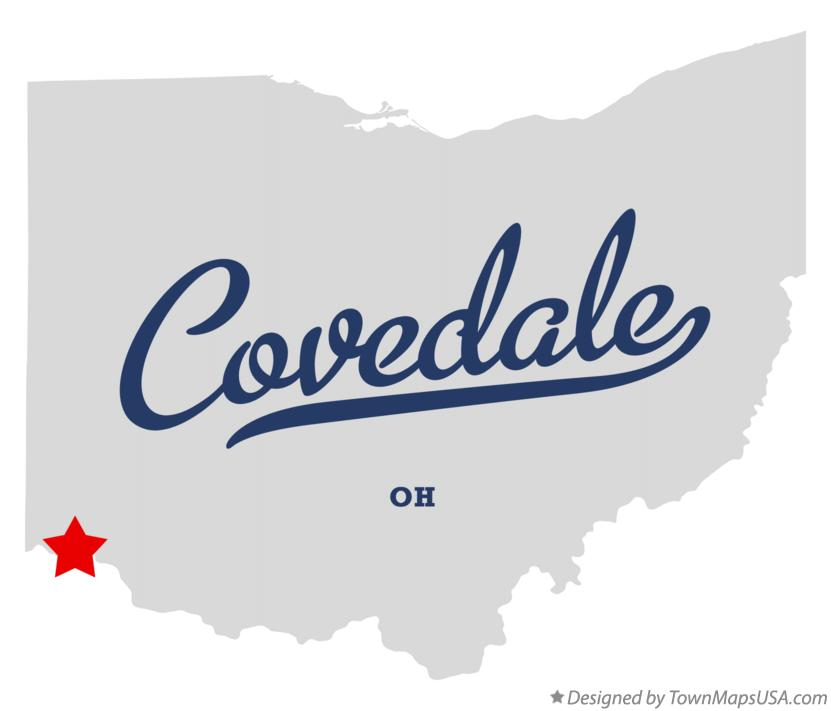 Map of Covedale Ohio OH