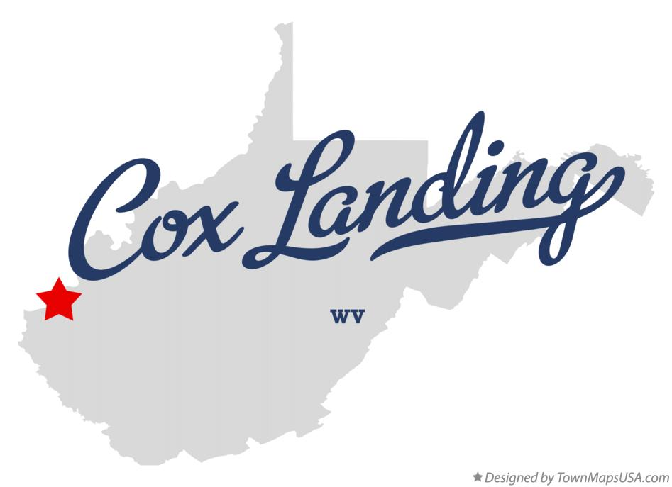 Map of Cox Landing West Virginia WV