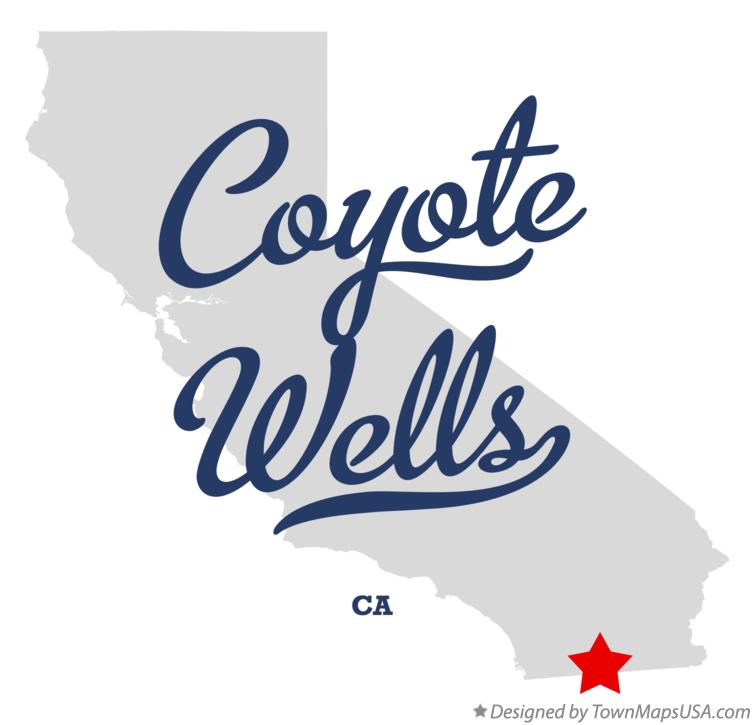 Map of Coyote Wells California CA