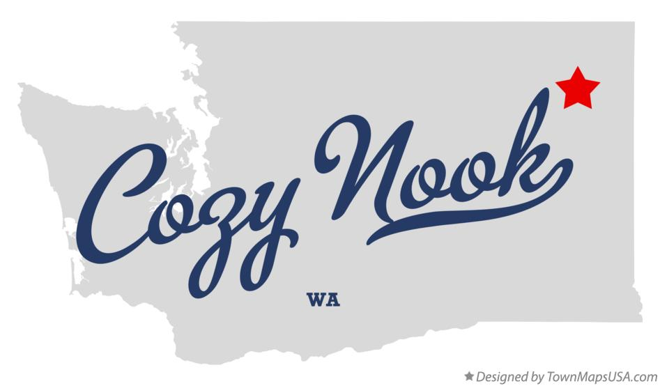 Map of Cozy Nook Washington WA
