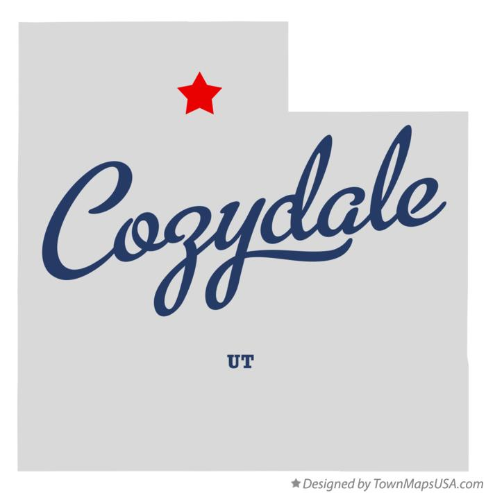 Map of Cozydale Utah UT