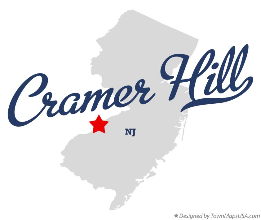 Map of Cramer Hill New Jersey NJ