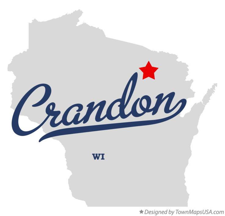 Crandon (WI) United States  City pictures : Map of Crandon Wisconsin WI