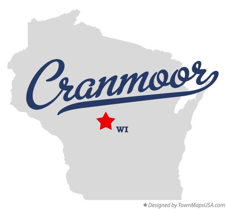 Map of Cranmoor Wisconsin WI
