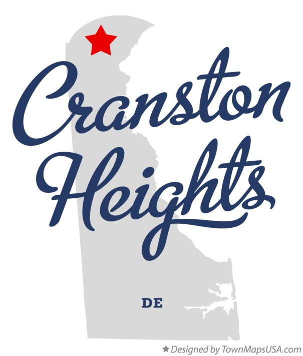 Map of Cranston Heights Delaware DE