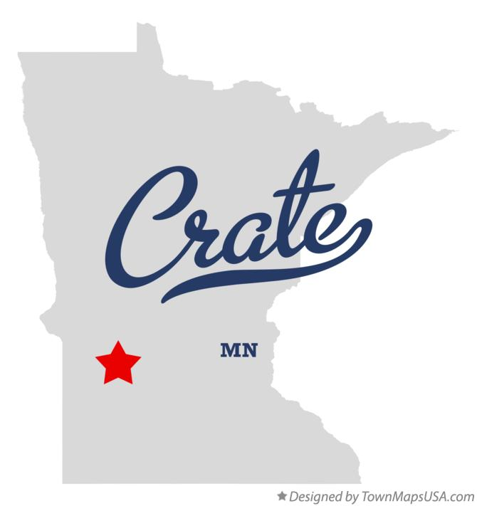 Map of Crate Minnesota MN