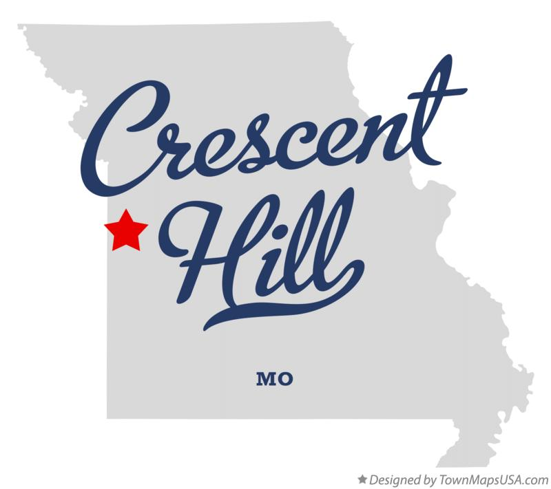 Map of Crescent Hill Missouri MO