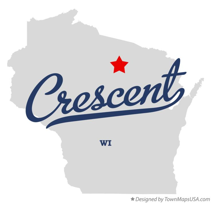 Map of Crescent Wisconsin WI