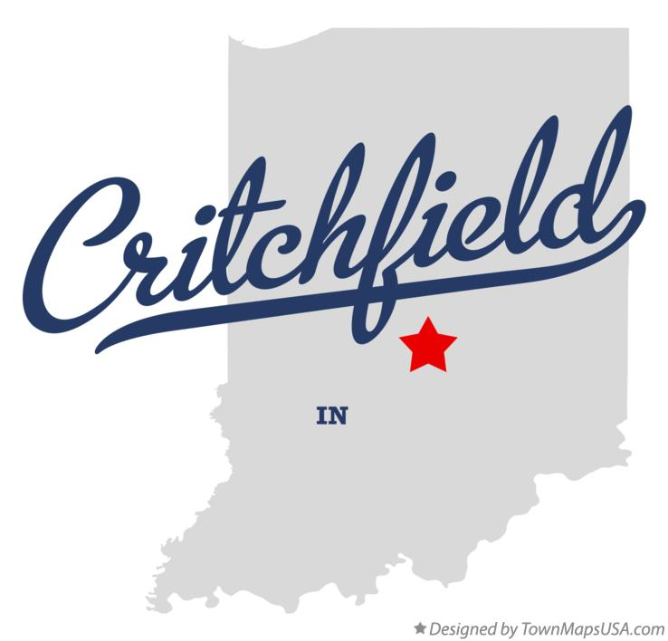 Map of Critchfield Indiana IN