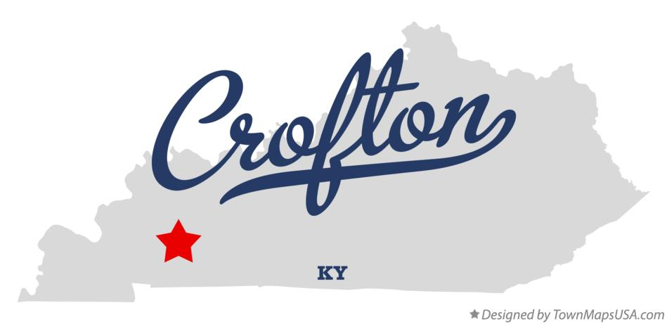 Map of Crofton Kentucky KY