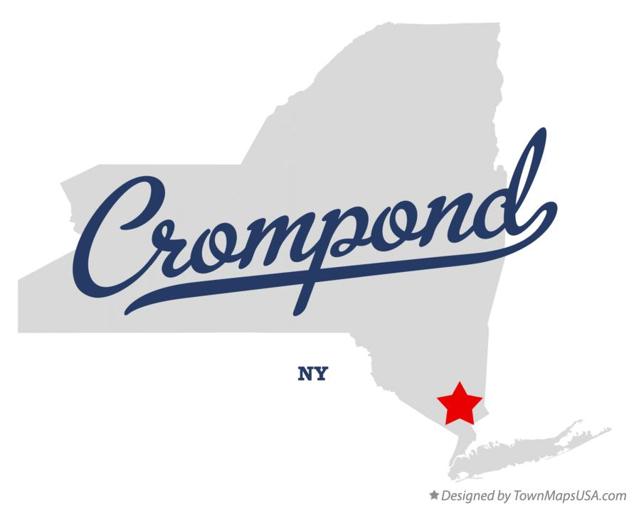 Map of Crompond New York NY