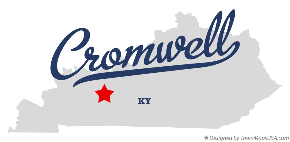 Map of Cromwell Kentucky KY