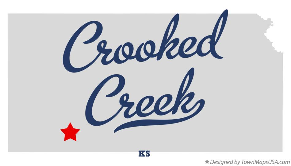 Map of Crooked Creek Kansas KS
