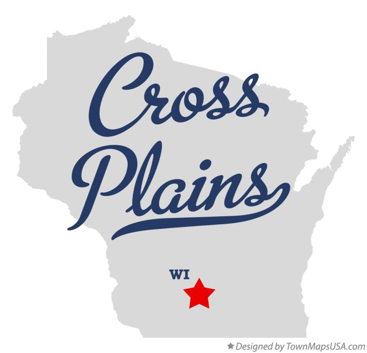 Map of Cross Plains Wisconsin WI