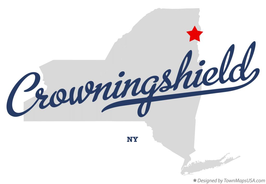 Map of Crowningshield New York NY