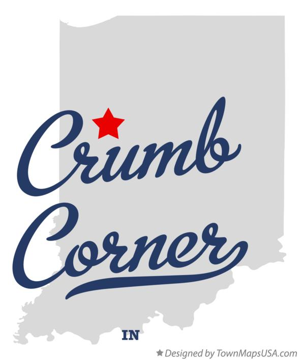 Map of Crumb Corner Indiana IN