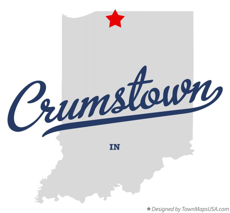 Map of Crumstown Indiana IN