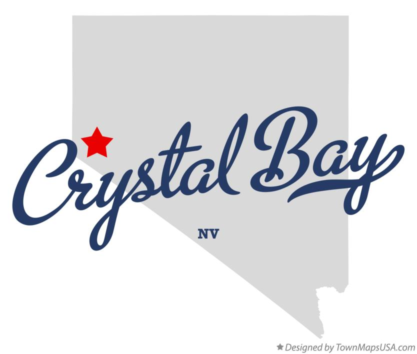 Map of Crystal Bay Nevada NV