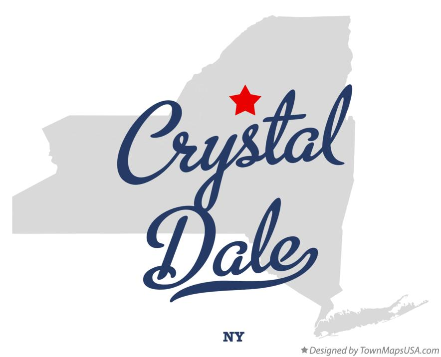 Map of Crystal Dale New York NY