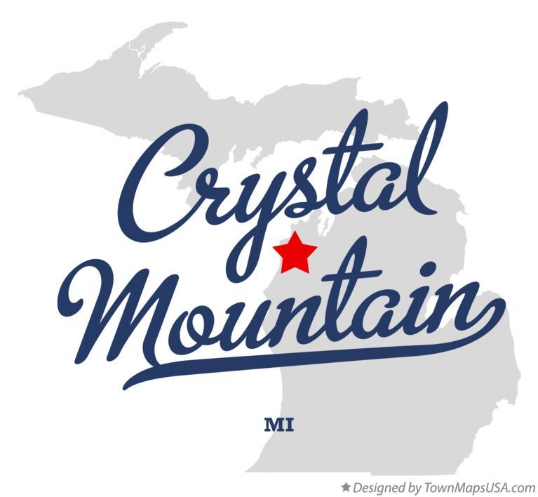 Map Of Crystal Mountain Mi Michigan
