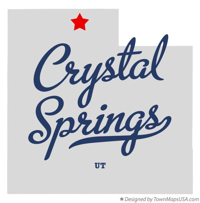 Map of Crystal Springs Utah UT