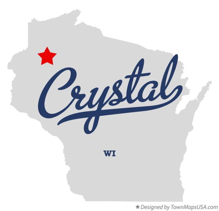 Map of Crystal Wisconsin WI