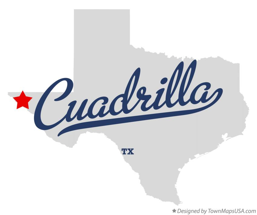 Map of Cuadrilla Texas TX