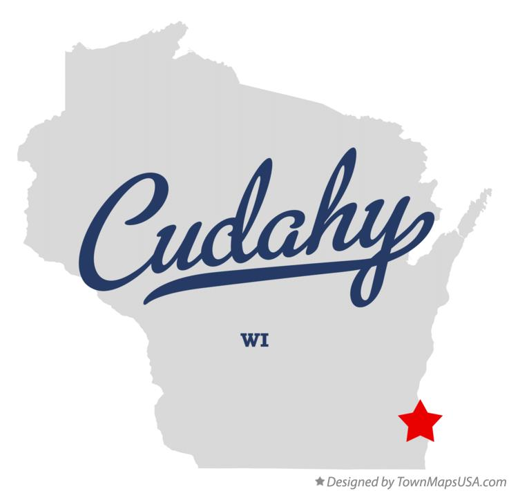 Cudahy Wisconsin Map.Map Of Cudahy Wi Wisconsin