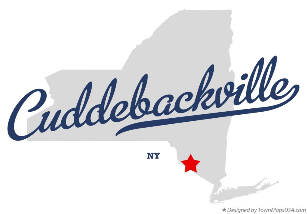 Map of Cuddebackville New York NY