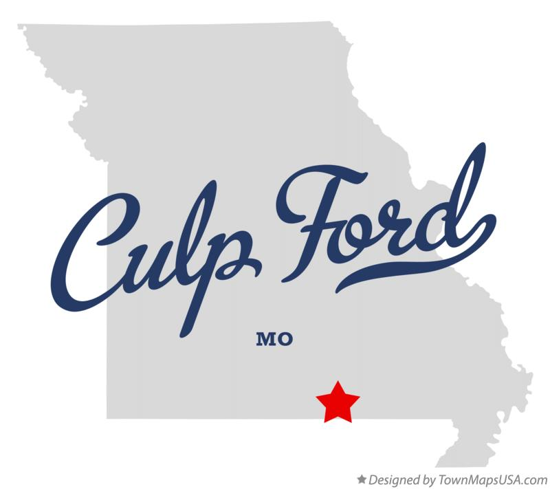 Map of Culp Ford Missouri MO