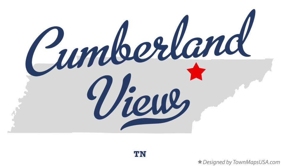 Map of Cumberland View Tennessee TN