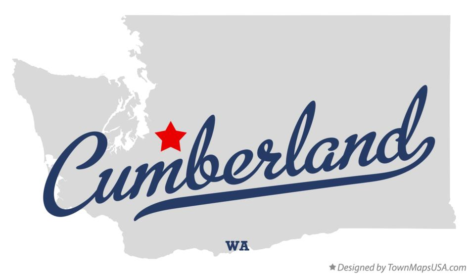 Map of Cumberland Washington WA