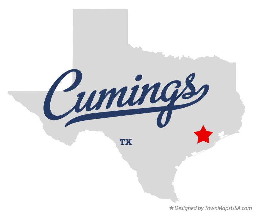 Map of Cumings Texas TX
