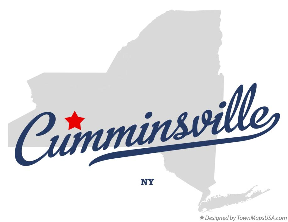 Map of Cumminsville New York NY