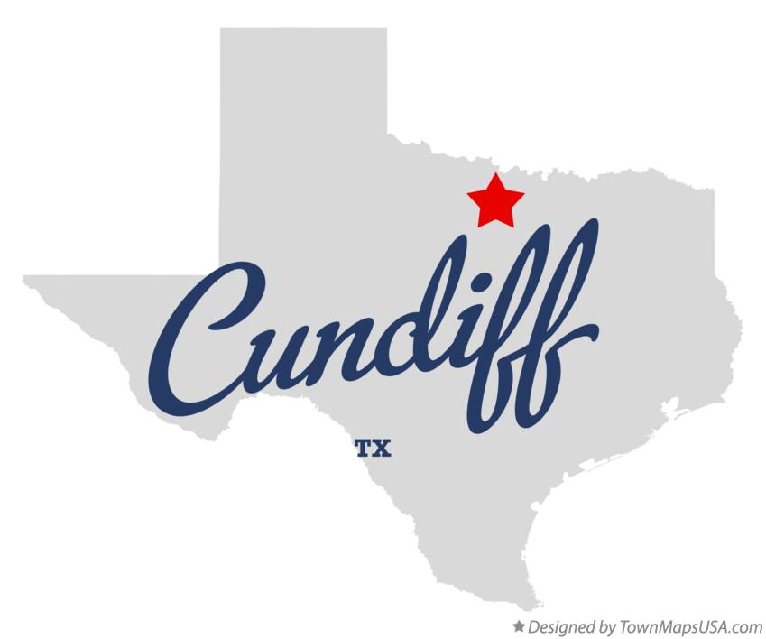 Map of Cundiff Texas TX