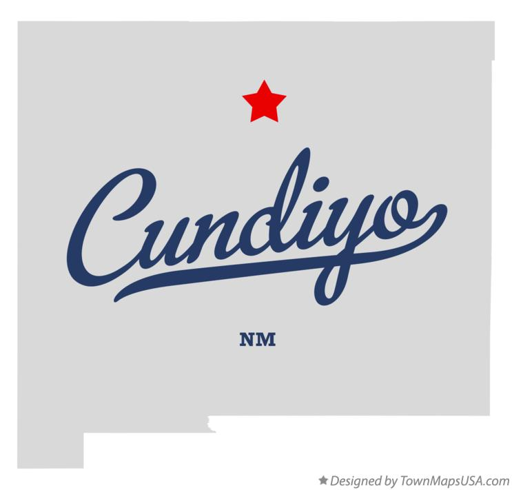 Map of Cundiyo New Mexico NM