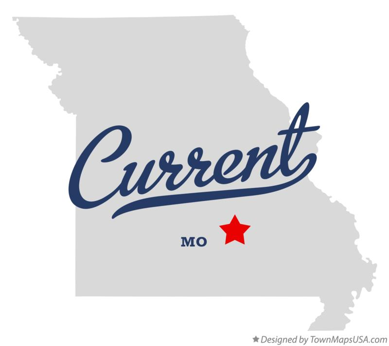 Map of Current Missouri MO