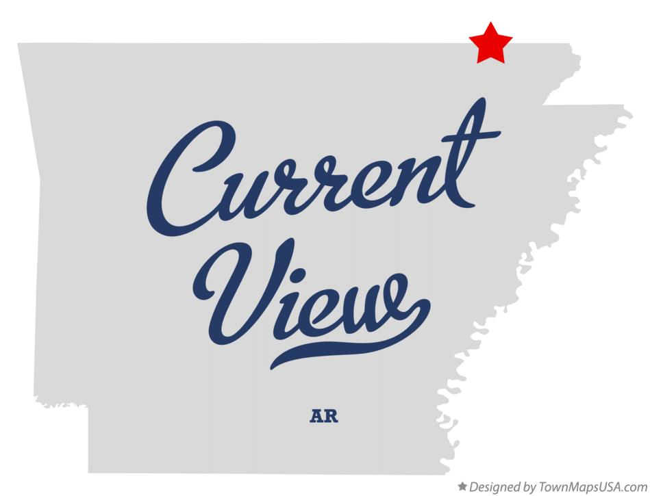 Map of Current View Arkansas AR