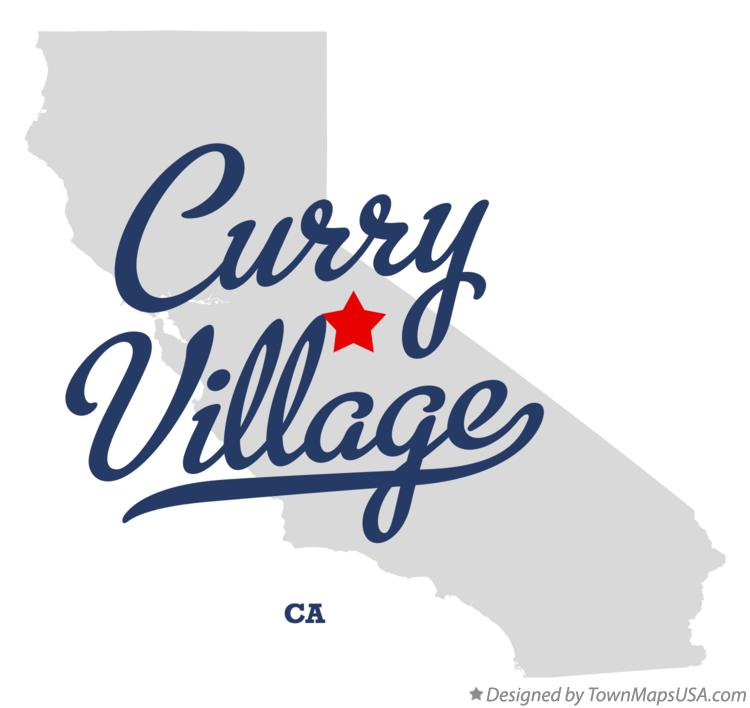 Map of Curry Village California CA