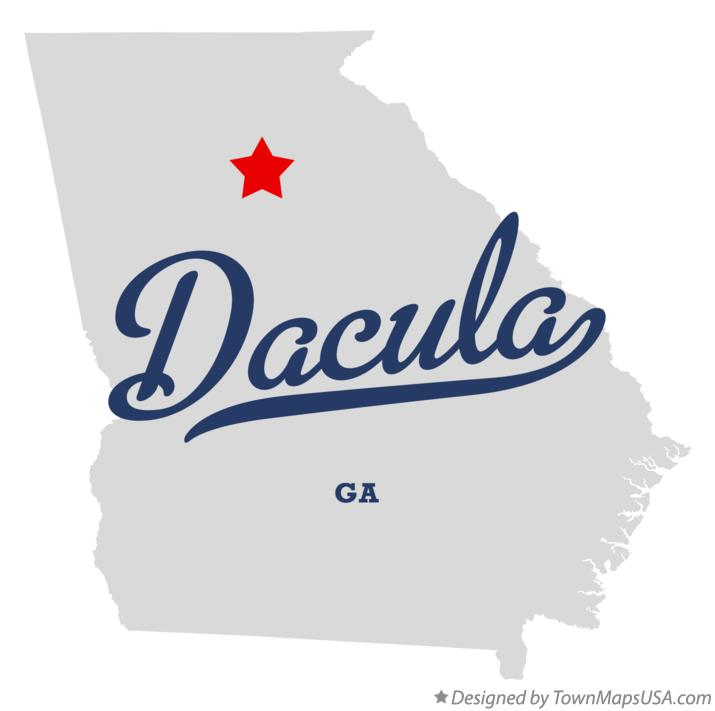 Map Of Dacula Ga Georgia