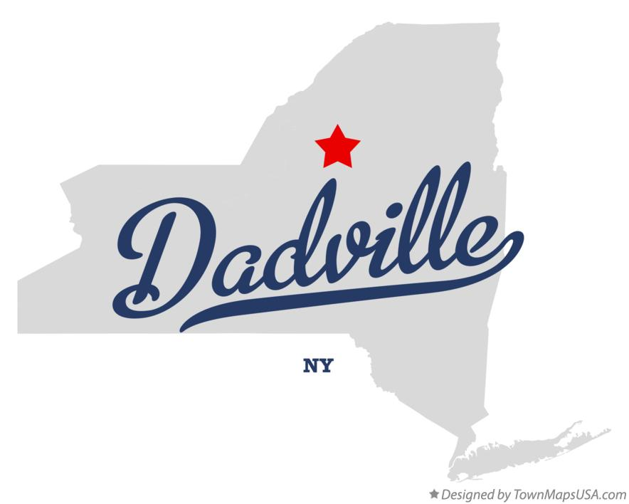 Map of Dadville New York NY
