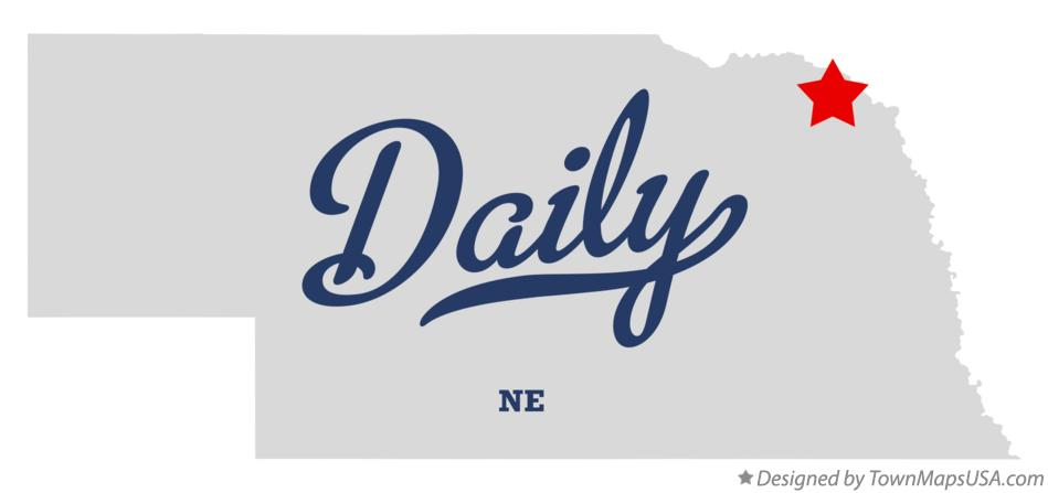 Map of Daily Nebraska NE