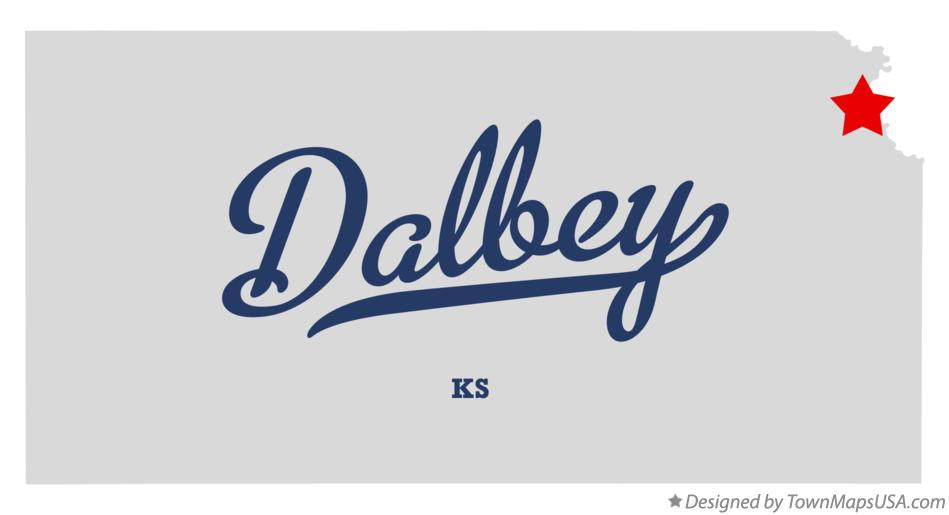 Map of Dalbey Kansas KS