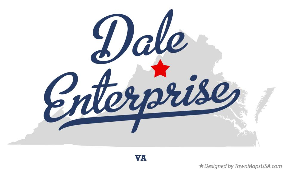 Map of Dale Enterprise Virginia VA
