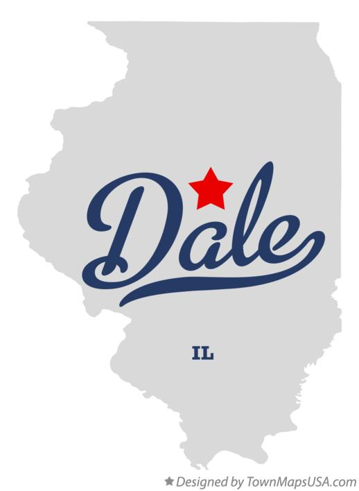 Map of Dale Illinois IL