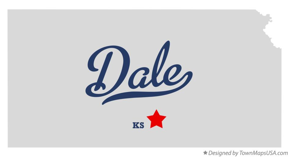 Map of Dale Kansas KS