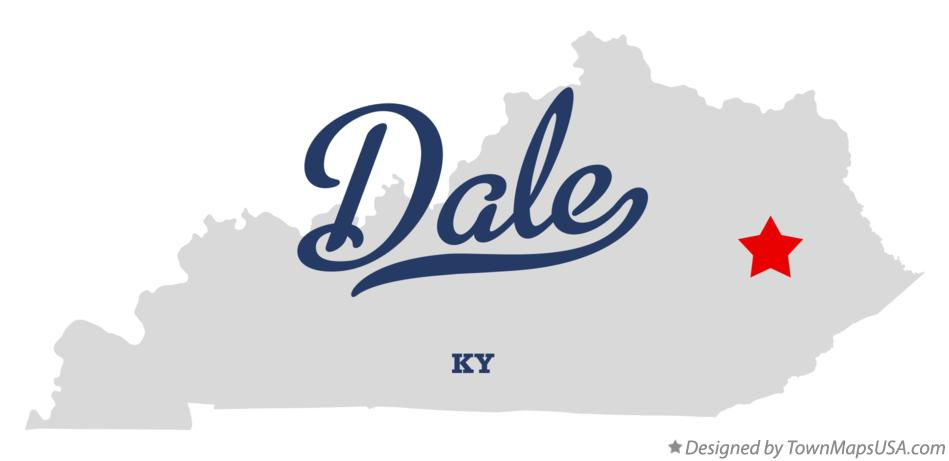 Map of Dale Kentucky KY