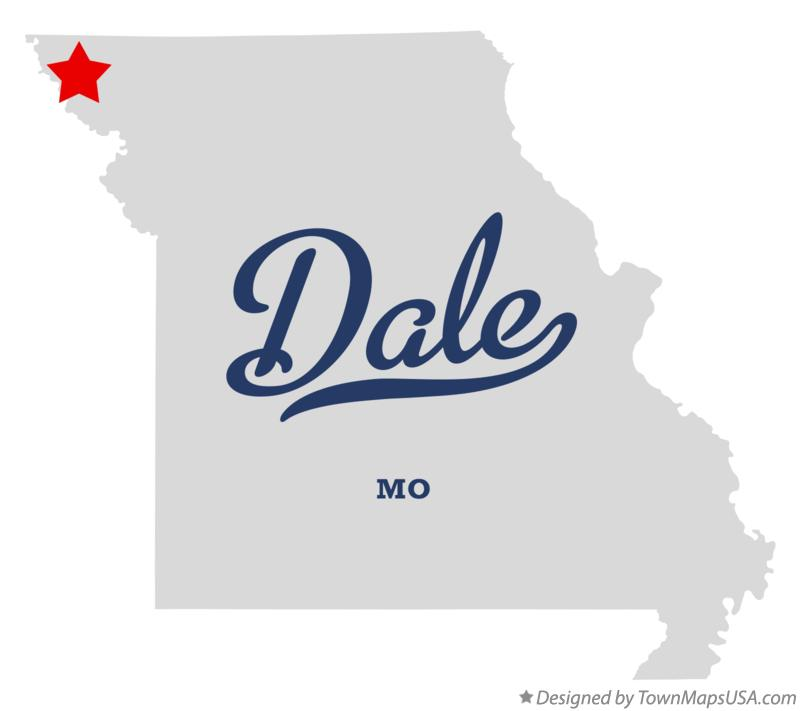 Map of Dale Missouri MO