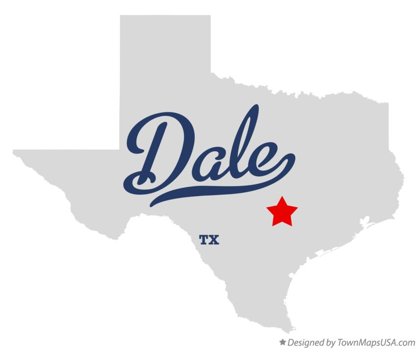 Map of Dale Texas TX