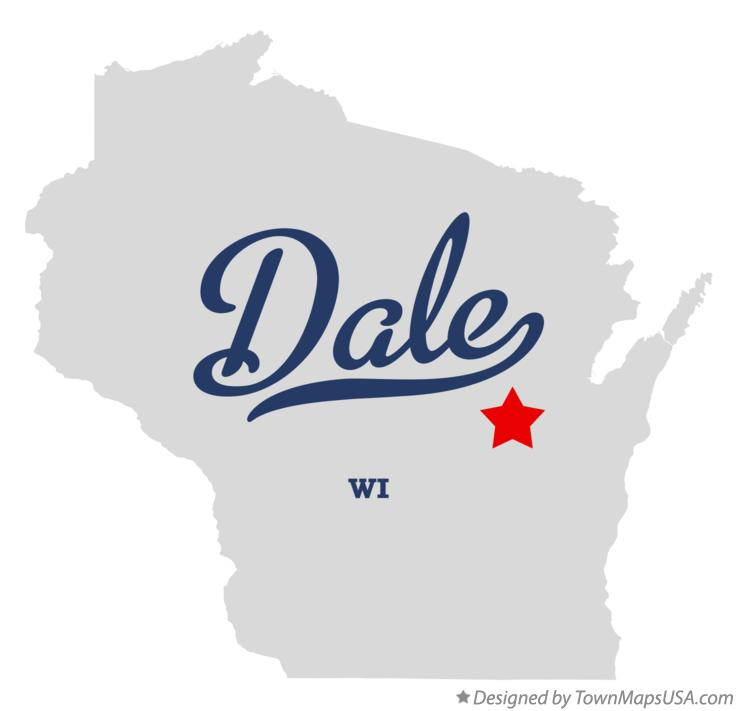 Map of Dale Wisconsin WI
